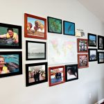 Creating A Travel Gallery Wall With A Map