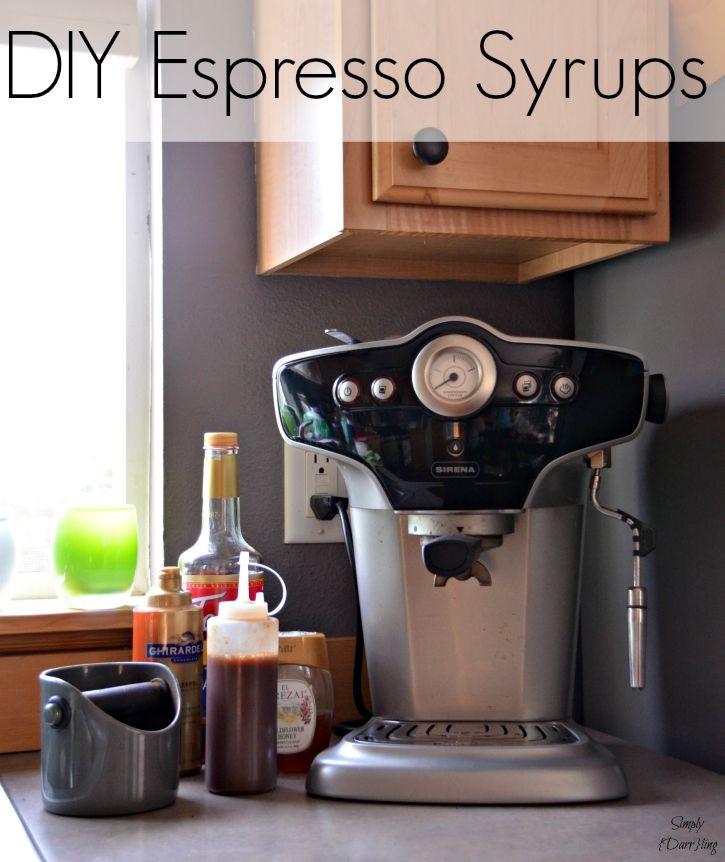 DIY Espresso Syrups