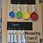 Measuring Spoon & Cup Organization