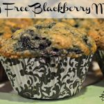 Yummy Dairy Free Blackberry Muffins