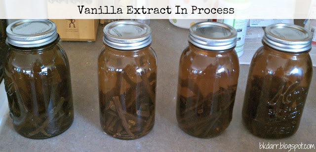 Homemade Vanilla Extract & Vanilla Sugar