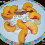 Fresh Peach Crepes