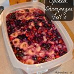 Spiked Challange! – Champagne Jello