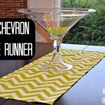 DIY Chevron Table Runner
