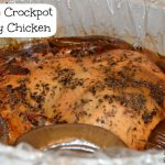 Recipe Wednesday – Crockpot Chicken