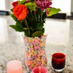 Valentine's Day Conversation Hearts Vase