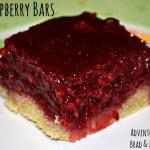 Raspberry Bars – Recipe Wednesday