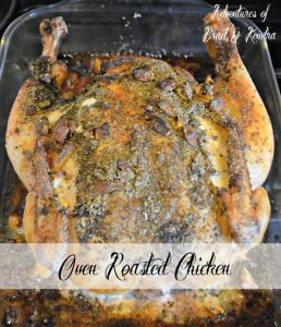 Baked Whole Chicken – Recipe Wednesday