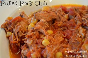 Pulled Pork Chili – Recipe Wednesday