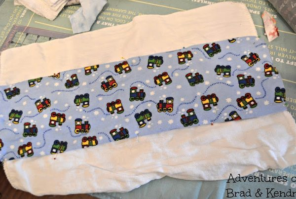 Adventures in Fabric Remnants – Burp Cloths