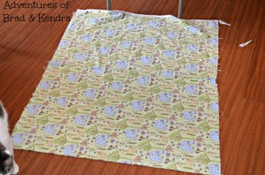 Adventures in Fabric Remnants – Baby Blanket