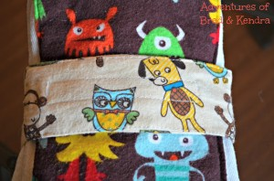 Adventures in Fabric Remnants – Diaper Strap