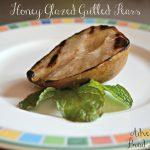 Honey Glazed Grilled Pears – Recipe Wednesday