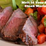 Melt In Your Mouth Steak Marinade