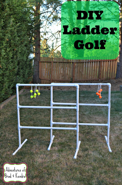 DIY Ladder Golf