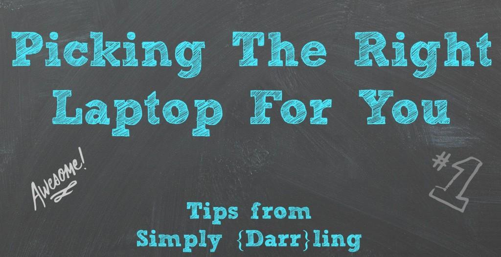 Tips for Choosing Laptop