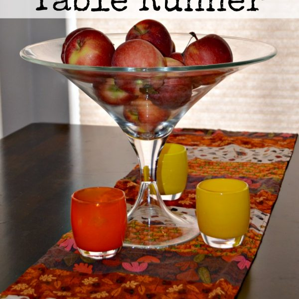 DIY Fall Table Runner