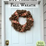 A Versatile Fall Wreath