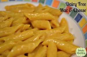 An Attempt At Dairy Free Mac and Cheese