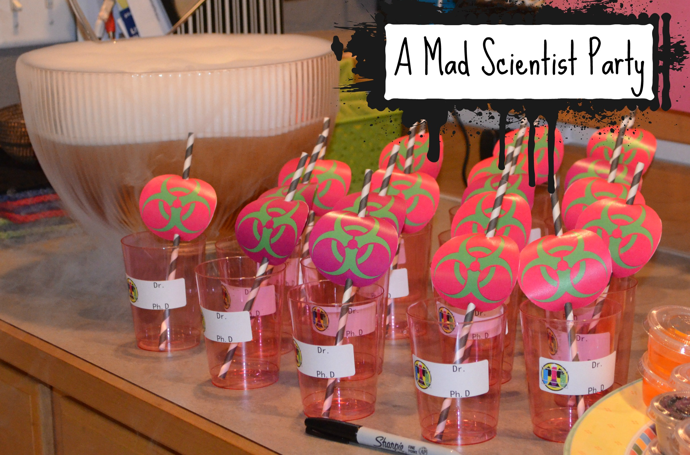 A Mad Scientist Halloween Party - Simply ling