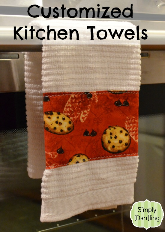 Customized Kitchen Towel with Cookies
