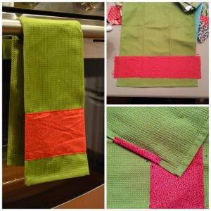DIY Customized Kitchen Towels