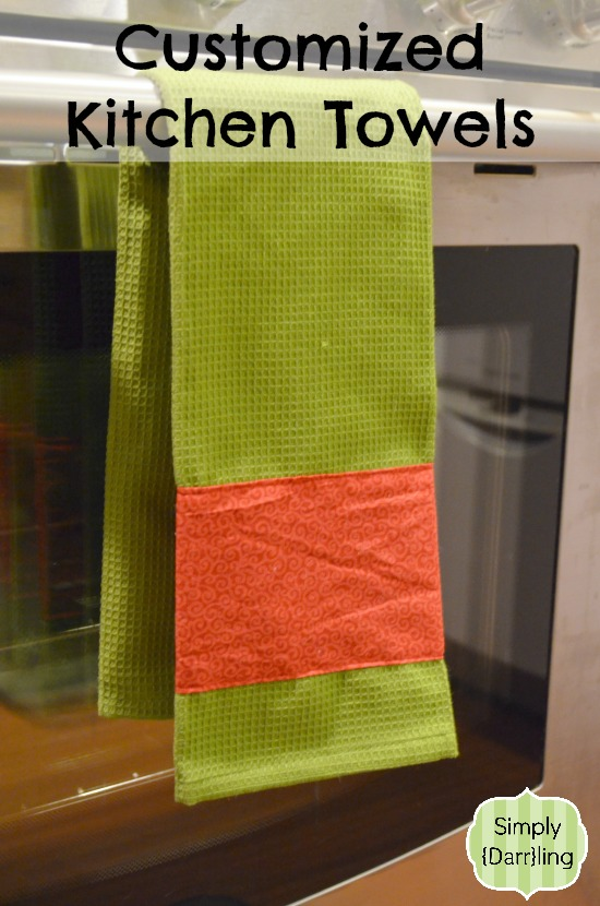 Customized Holiday Kitchen Towel