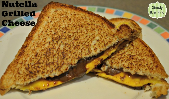 Grilled Cheese with Nutella