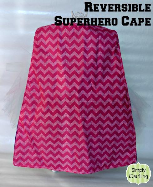 Child's Superhero Cape