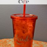 DIY Personalized Cold Beverage Cup