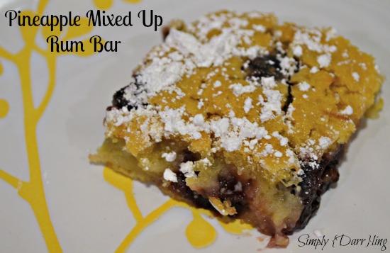 Pineapple Mixed Up Rum Bar