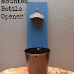 DIY Wall Mounted Bottle Opener