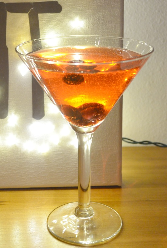 Cranberry Cocktail Closeup