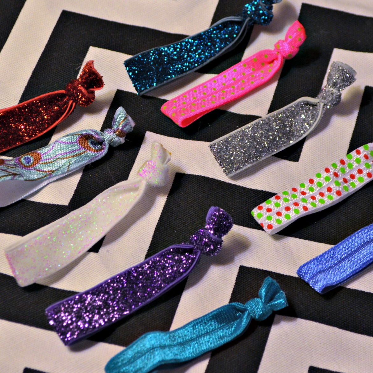 Fold Over Elastic Hair Ties Simply Darr Ling