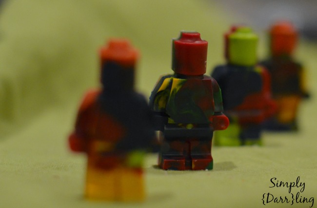 Lego Men Crayons DIY