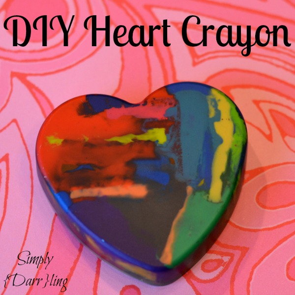DIY Heart Crayon