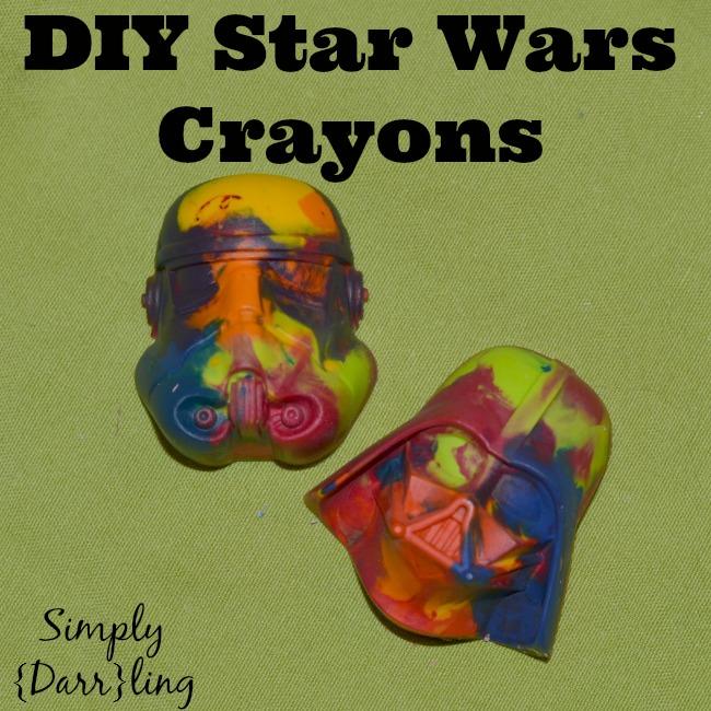 Star Wars Crayons DIY