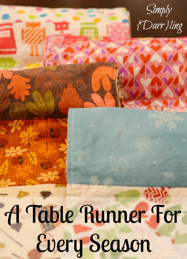 Table Runners for All SEason