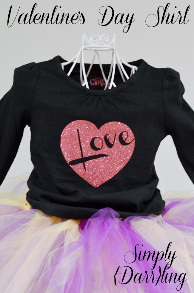 Kid's Valentine's Day Shirt
