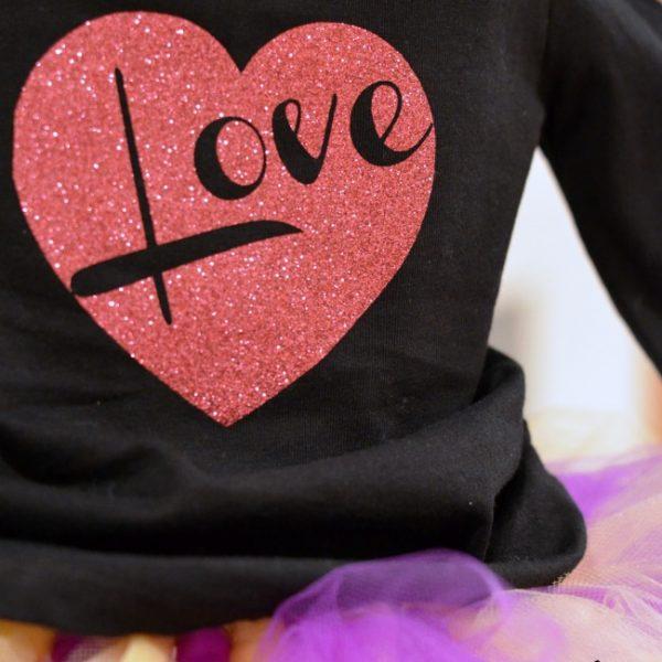 A Kid's Valentine's Day Shirt