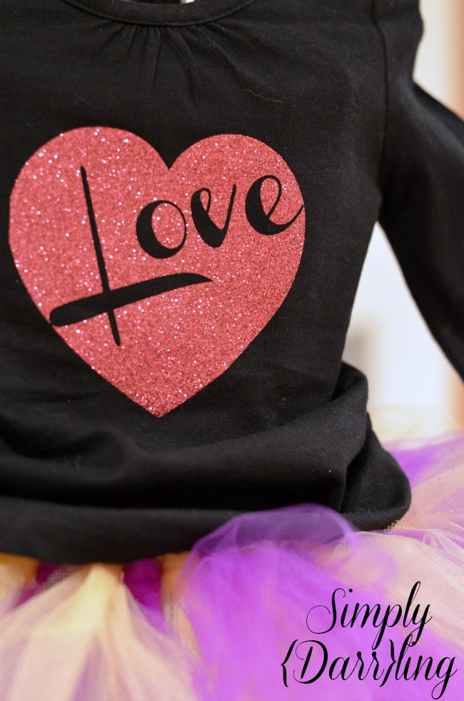 Valentine's Day Shirt DIY