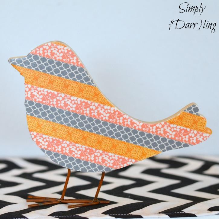 Washi Tape Bird
