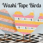 Washi Tape Bird