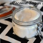 DIY Whipped Coconut Sugar Scrub