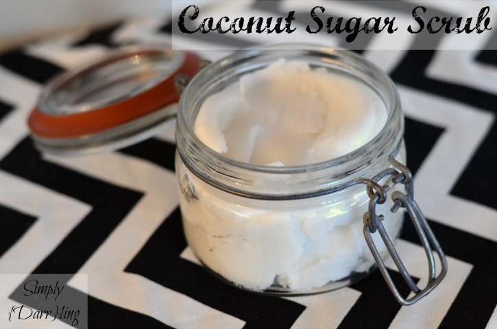 Whipped Coconut Sugar Scrub