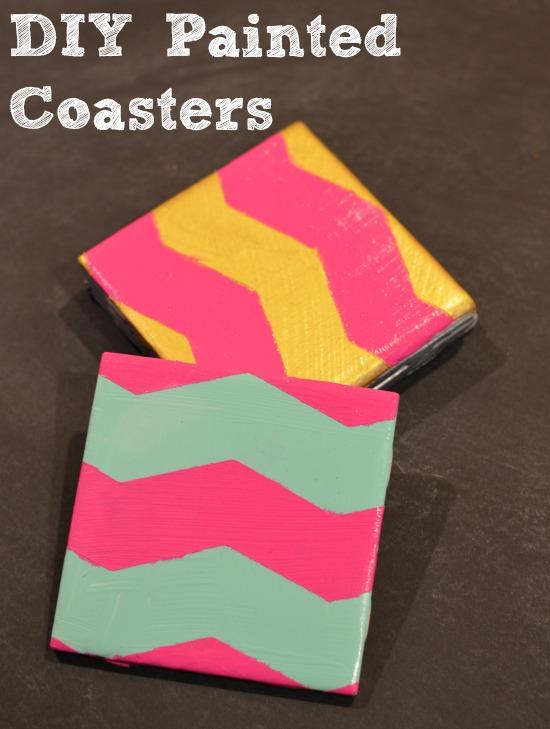 DIY Painted Coasters