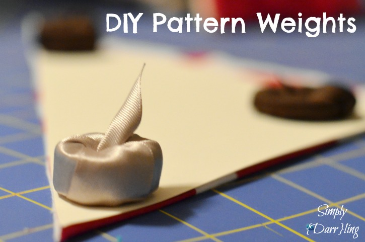 DIY Pattern Weights