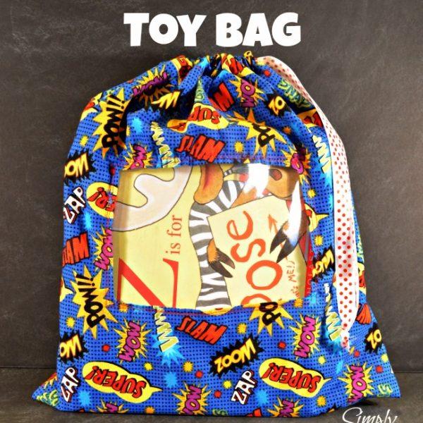 See-Through Toy Bag