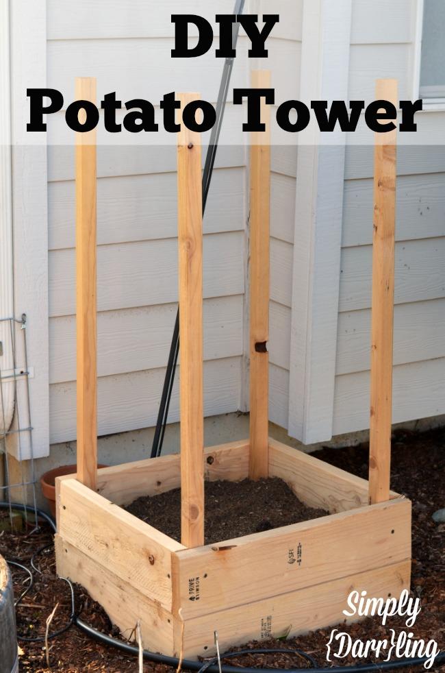 The Darr Garden 2014 Amp Diy Potato Tower Simply Darr Ling