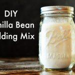 DIY Vanilla Bean Pudding Mix